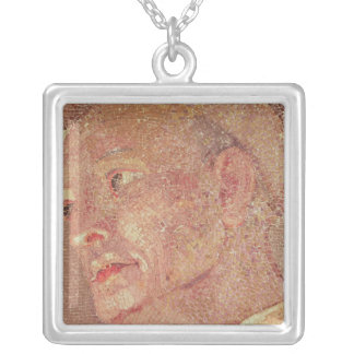 St. Bernard of Clairvaux  from Crypt St. Peter Silver Plated Necklace