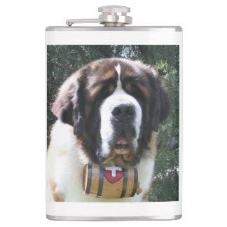 St-bernard.png Hip Flask