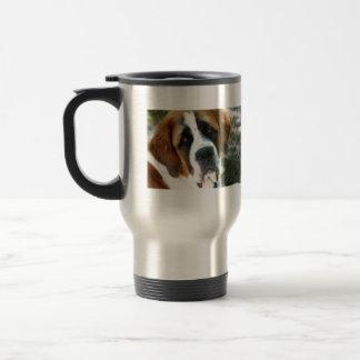 St. Bernard Stainless Steel Travel Mug