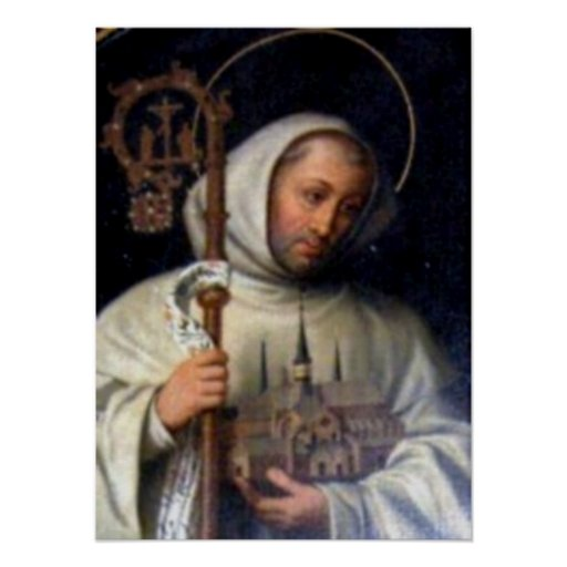 St. Berne ARD OF Clairvaux Poster