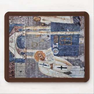 St. Blaise The Great By Meister Der Sophien-Kathed Mouse Pad