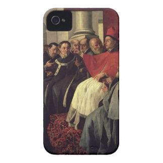 St. Bonaventure (1221-74) at the Council of Lyons Case-Mate iPhone 4 Cases