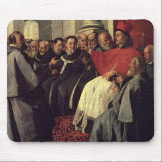 St. Bonaventure (1221-74) at the Council of Lyons Mouse Pad