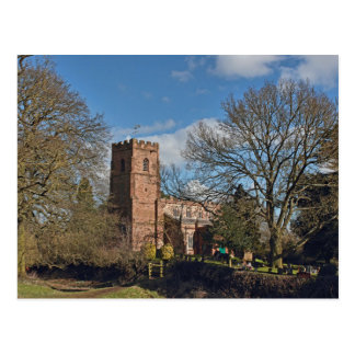 St Botolph's Church, Rugby, Warwickshire Postcard