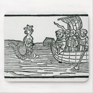 St. Brendan and the Siren Mouse Pad