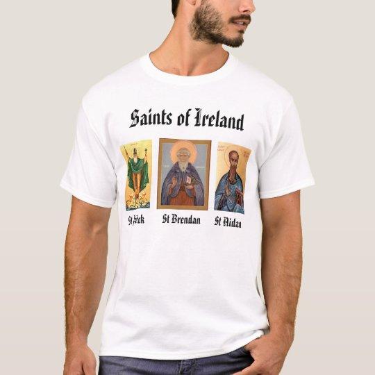 St. Brendan, patrick, aidan, Saints of Irelan T-Shirt