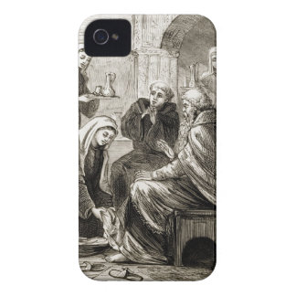St. Brigit entertaining a Bishop, from 'The Trias iPhone 4 Case-Mate Case