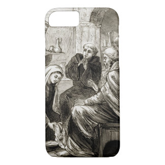 St. Brigit entertaining a Bishop, from 'The Trias iPhone 8/7 Case