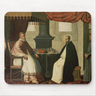 St. Bruno  and Pope Urban II  1630-35 Mouse Pad
