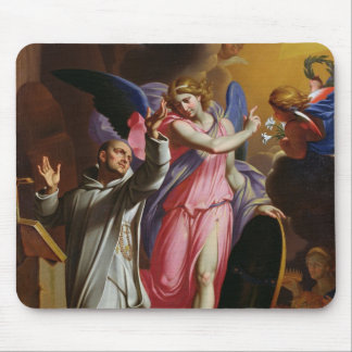 St. Bruno at Prayer, 1671 Mouse Mat