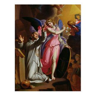 St. Bruno at Prayer, 1671 Postcard