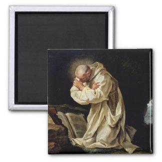 St. Bruno  Praying in the Desert, 1763 Magnet