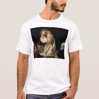 St. Bruno  Praying in the Desert, 1763 T-Shirt