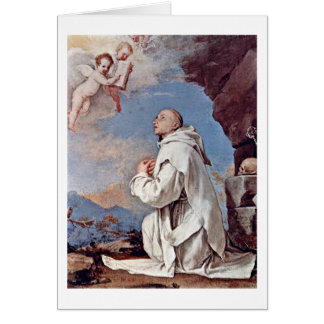 St. Bruno The Carthusian By Jusepe De Ribera Card