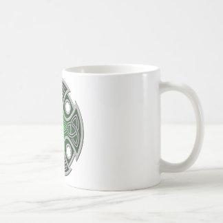 St. Brynach's Cross green and grey Coffee Mug