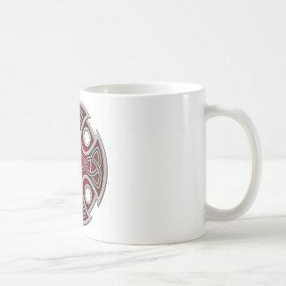 St. Brynach's Cross red and grey Coffee Mug