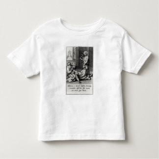 St. Catherine Exorcising a Demon from a Woman Toddler T-Shirt
