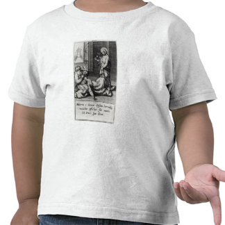 St. Catherine Exorcising a Demon from a Woman Tee Shirts