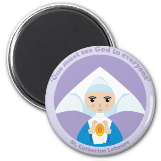 St. Catherine Laboure Fridge Magnet