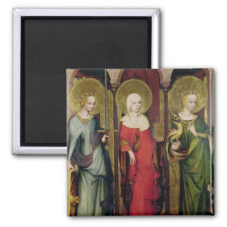 St Catherine of Alexandria St Mary Refrigerator Magnets