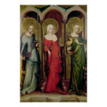 St. Catherine of Alexandria, St. Mary Poster