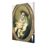 St. Catherine of Siena , c.1746 Canvas Print