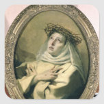 St. Catherine of Siena , c.1746 Sticker