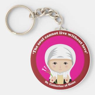 St. Catherine of Siena Key Ring