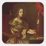 St. Cecilia 2 Square Sticker