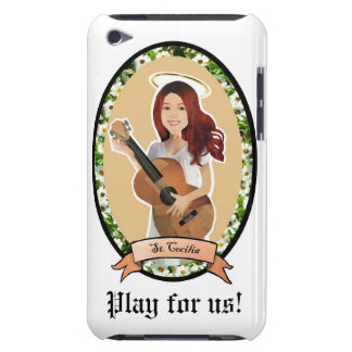 St Cecilia Play for us patron of music itouch case iPod Touch Cover