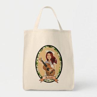 St. Cecilia reusable tote bag