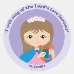 St. Cecilia Stickers
