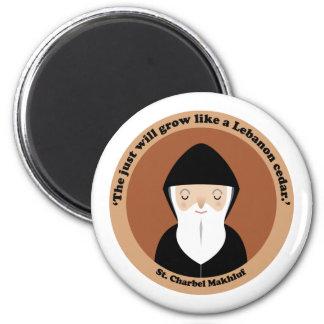 St Charbel Makhluf Fridge Magnets
