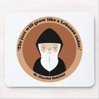 St. Charbel Makhluf Mouse Pad