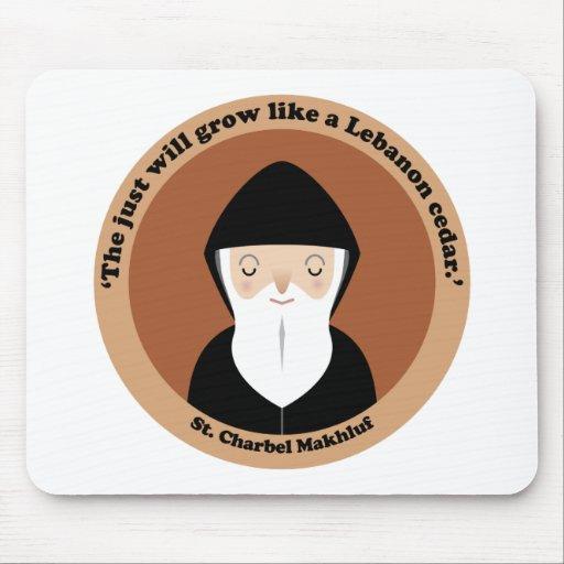 St. Charbel Makhluf Mouse Pads