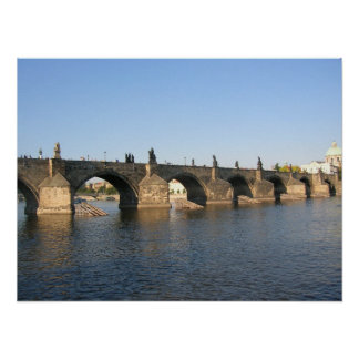 St. Charles Bridge, Prague Poster