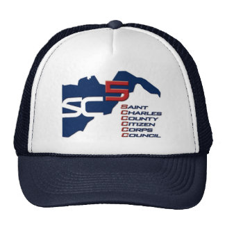 St. Charles County Citizen Corps Council Cap Trucker Hat