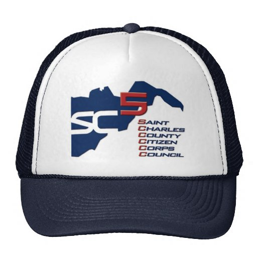 St. Charles County Citizen Corps Council Cap Mesh Hats