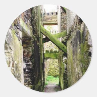 St. Charles Fort, Ireland Classic Round Sticker