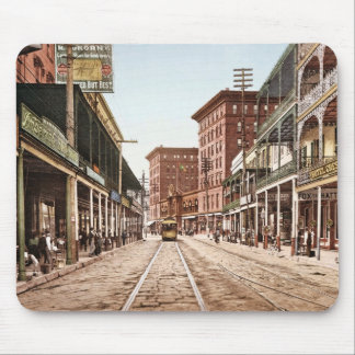 St. Charles Street New Orleans 1900 Mouse Mat