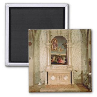 St Christina Altarpiece Fridge Magnets