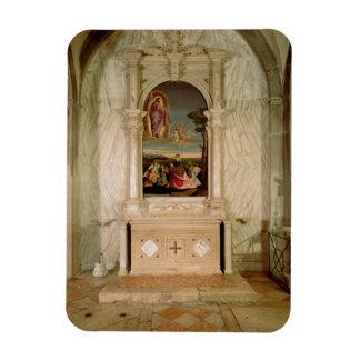 St. Christina Altarpiece Rectangular Photo Magnet