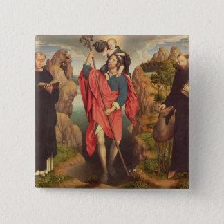 St. Christopher , 1484 15 Cm Square Badge
