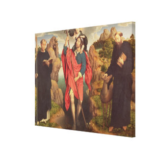 St. Christopher , 1484 Canvas Print