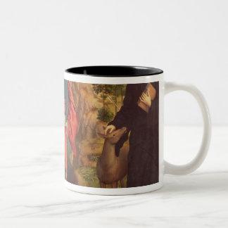 St. Christopher , 1484 Two-Tone Coffee Mug