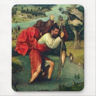 St. Christopher postcard Mouse Pad