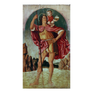 St. Christopher Poster