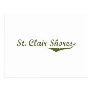 St. Clair Shores  Revolution t shirts Postcard