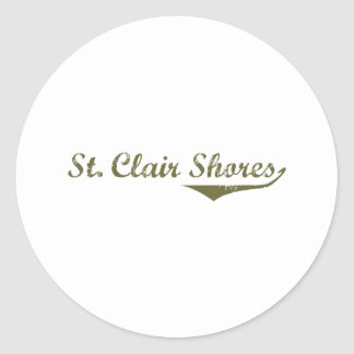 St. Clair Shores  Revolution t shirts Stickers