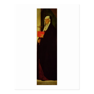 St Clare c 1485-90 tempera on panel Post Cards